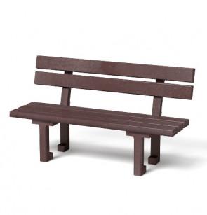 Montážní set plastové lavičky Eva